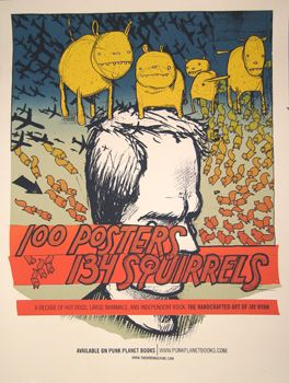 100 Posters/ 134 Squirrels