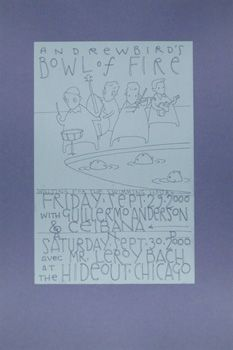 Andrew Bird's Bowl Of Fire 29-30/9/00 The Hideout