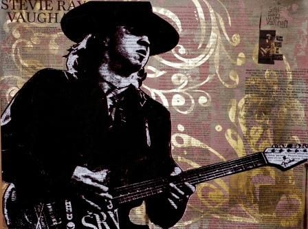 Stevie Ray Vaughan 2 gold