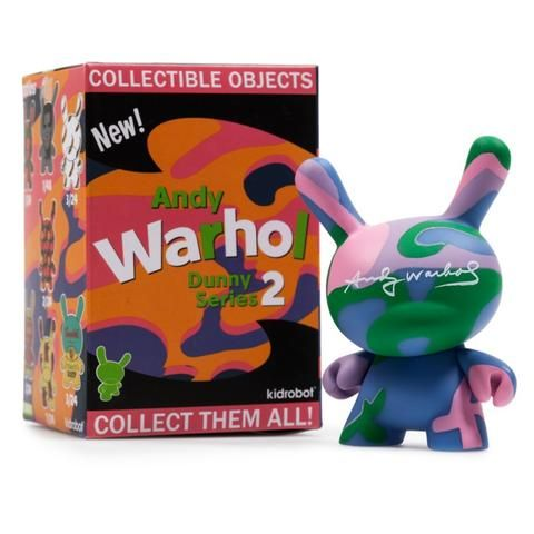 Andy Warhol Dunny Series 2 Blind Box 3 inch