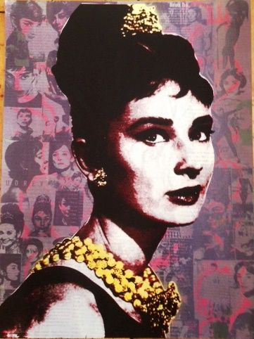 Audrey Hepburn 7 2nd Edition Purple/Pink