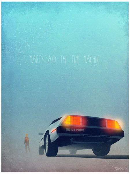 Back To The Future 1 Day Movie Poster