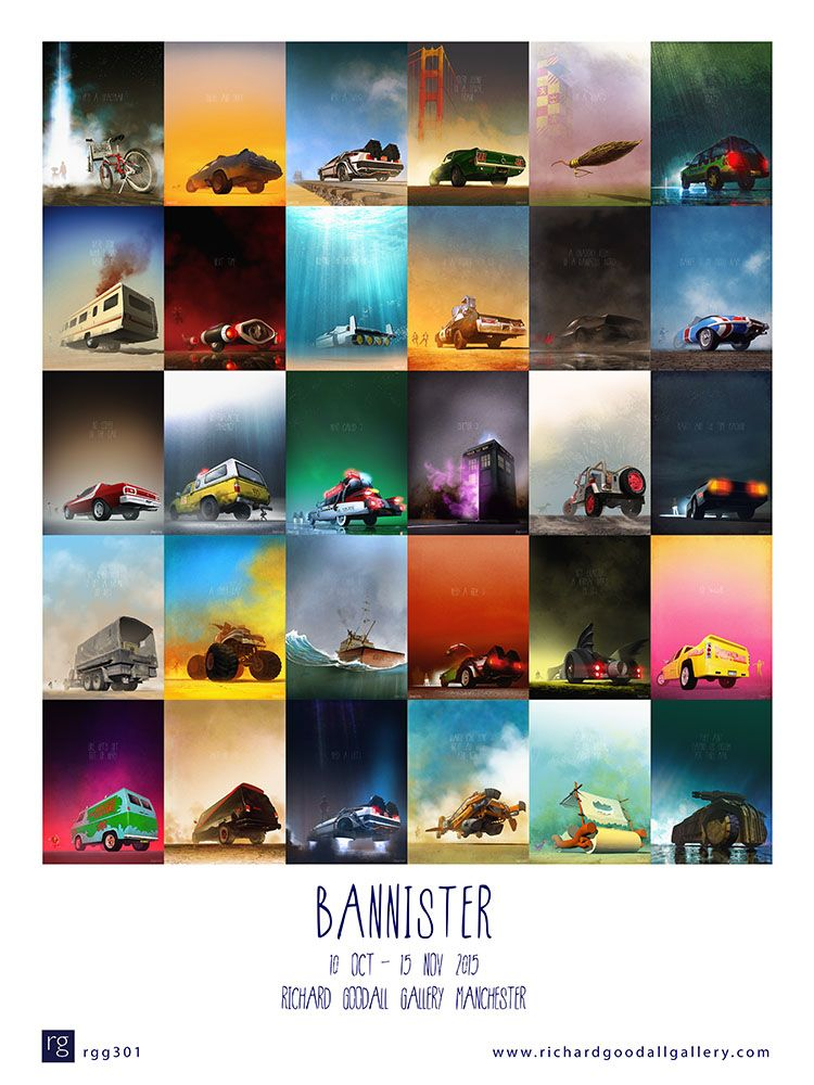 Bannister Exhibition Poster