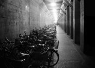 Bicycles Milan 1987 Pigment Print