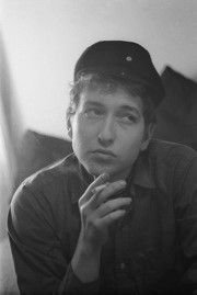 Bob Dylan and his fishermans cap, Greenwich Village, NYC 1961