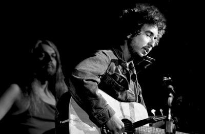 Bob Dylan and Leon Russel 1970 Pigment Print