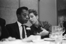 Bob Dylan & James Baldwin, Bill of Rights Dinner, 1963