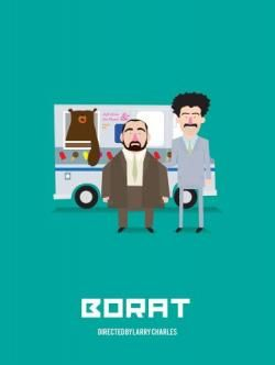 Borat Movie Poster