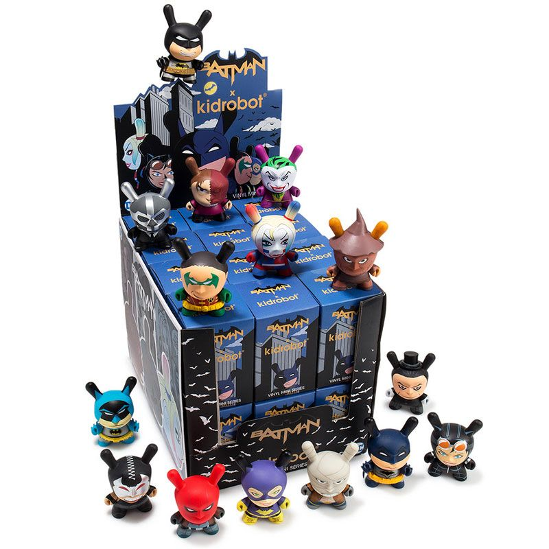 DC Batman Dunny Series 3 inch blind box sealed case