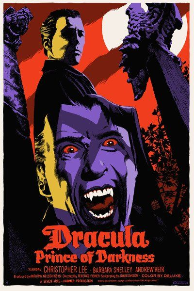 Dracula: Prince of Darkness Movie Poster