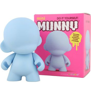 Mini Munny Blue