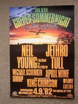 Neil Young 4/9/82