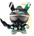 Patricio Oliver Art of War Dunny 2014 Teal