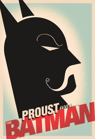 Proust was Batman Movie Poster