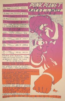 Punk Planet rates & dates 2005