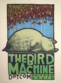 The Bird Machine Dot Com Promo Poster