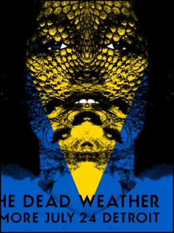The Dead Weather 24/07/09 Detroit