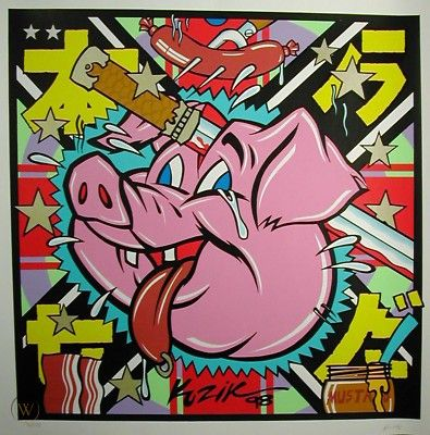 The Other White Meat  Art Print 1998