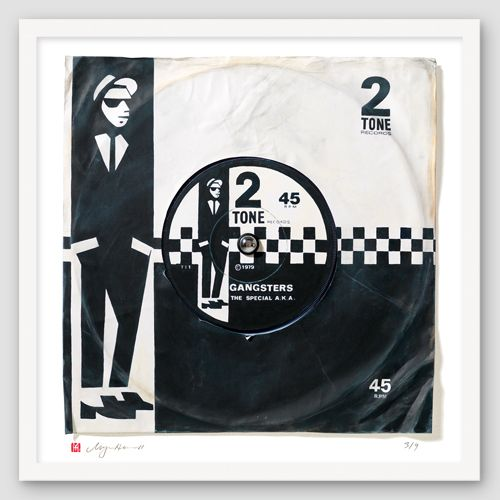 "The Specials AKA ""Gangsters"" Print of Printed Single"